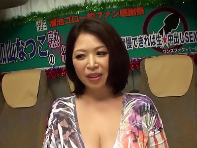 Best Japanese whore Natsuko Kayama in Fabulous couple, mature JAV clip