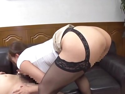 Big ass Japanese doll deals lover's dig up liking for a pro