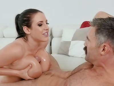 Voluptuous milf drinks sperm after fucking in insane modes