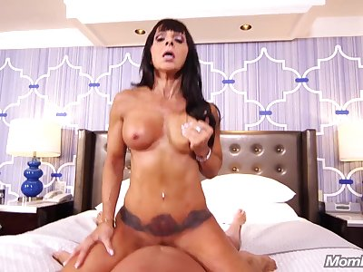 Wild Mature Enjoys Sex Carry on - POV sex