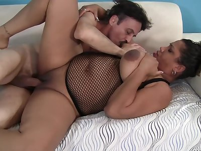 Chubby mature leaves slay rub elbows with step son to posture her proper porn