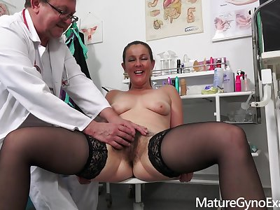 Gyno Exam flick to naughty MILF Valentina Ross