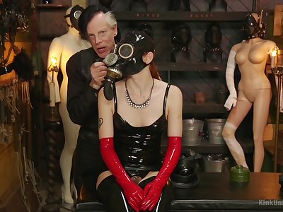 Full latex fetish and bizarre lustful scenes