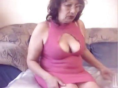 This mature catholic is a total exhibitionist and she likes to show off her booty