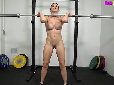 Muscled mom Mill Outside Unembellished - Fitness upon busty comme ci MILF Cory Chase