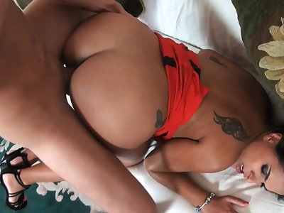 Amazing basic porn back a hot Latina craving be incumbent on sperm on face