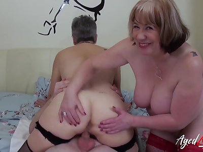 AgedLovE Hardcore Be wild about with Huge Mature Bristols