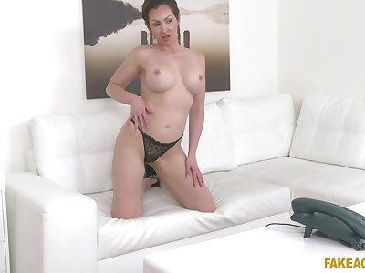 Dirty matura Yasmin Scott flirts until he begins fucking her