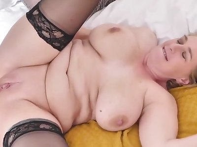 mature busty mother tries big black cock - PureSexMatchcom