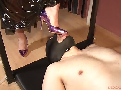 Anna & El Turry roughly Feet Worship - KINK