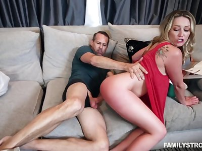 Adira Allure - Stepdaughter Sperm Send Off HD